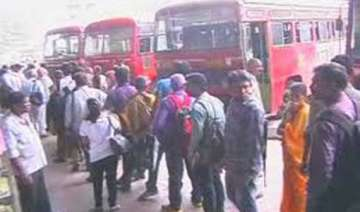 woman bus conductor beaten stripped by male...