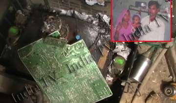 woman killed after tv set explodes due to lpg...
