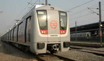 work on metro line between ina south extension...