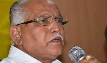 yeddyurappa not in a hurry to quit - India TV