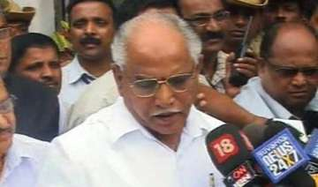 yeddyurappa sons son in law took money by cheques...