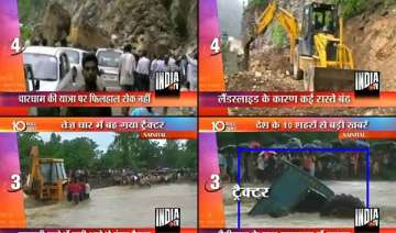 2 500 pilgrims trapped in uttarakhand after heavy...
