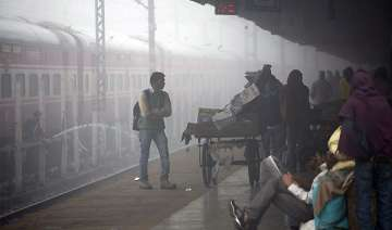 dense fog leads to large scale disruption of...