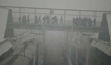 56 trains running late due to fog 11 rescheduled...