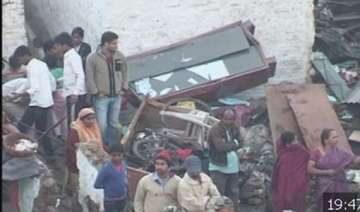7 killed 35 injured in water tank collapse on...
