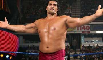the great khali avenges brody steel - India TV