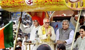 at a glance from advani s ram rath yatra to jan...