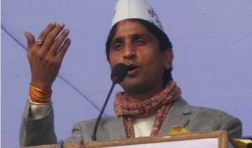 aap s vishwas booked for alleged violation of...