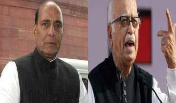 advani can choose his constituency says rajnath -...