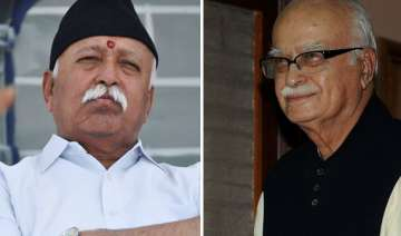 advani rss chief have detailed and candid...