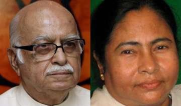 advani congratulates mamata - India TV