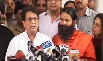 ajit singh s party supports baba ramdev s...