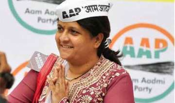 aap s anjali damania quits the party - India TV