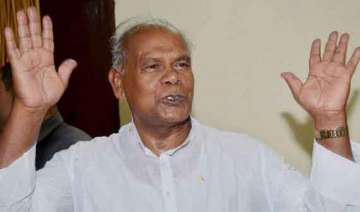 anti bjpism is the issue now jitan ram manjhi -...