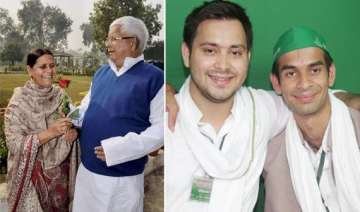 at a glance lalu yadav s two sons tejaswi and tej...