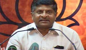 bjp attacks govt for failure in handling army...