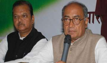 bjp to file fir against digvijay - India TV