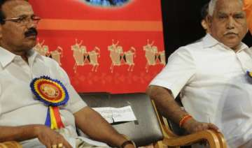crisis in bjp continues as rival factions stick...