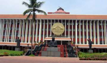 pandemonium in kerala assembly forces adjournment...