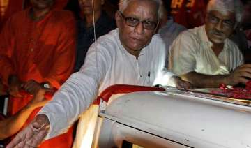 bengal cm sweating it out in jadavpur - India TV