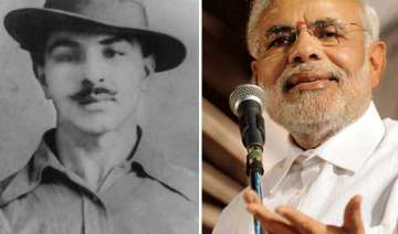 bhagat singh s family divided over modi releasing...