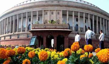 both houses of parliament adjourned - India TV