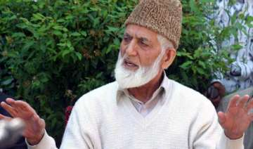 centre not serious about dialogue geelani - India...