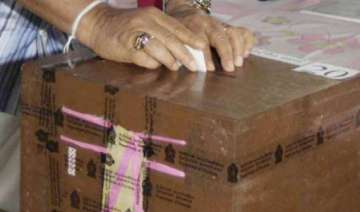 80 per cent voting in crucial ap by polls - India...