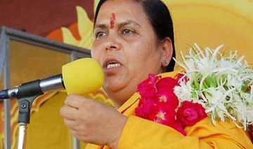cong a divided house says uma - India TV
