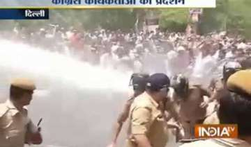 congress cpi m took to streets protesting against...