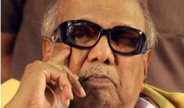 congress accuses karunanidhi of creating new...