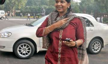 dmk sees congress support for kanimozhi in rs...