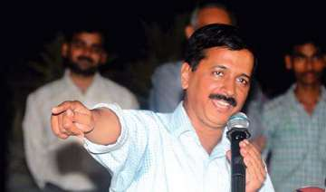 delhi polls kejriwal predicts 50 seats for aap -...
