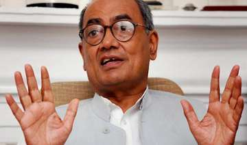 digvijay arrives in ap to select ls assembly poll...