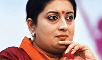 education row smriti irani may face 6 months...