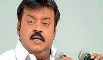 fir filed against vijayakant - India TV