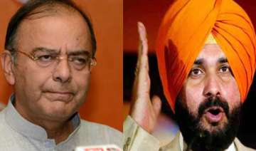 field arun jaitley in place of sidhu from...