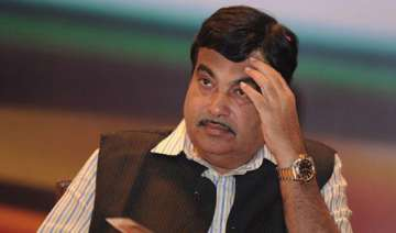 gadkari given additional charge of portfolios...