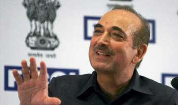 ghulam nabi azad made leader of congress in rs...