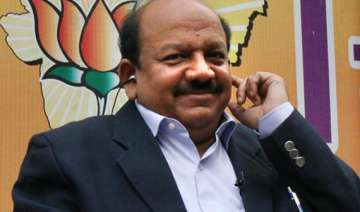 harsh vardhan files nomination papers from...