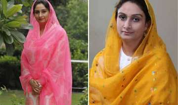 in pics harsimrat kaur badal union minister for...