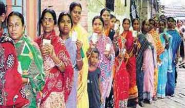 howrah bypoll 15.9 pc votes cast in first two hrs...