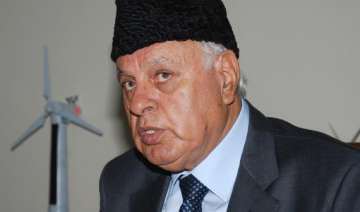 india should continue talking to pakistan farooq...