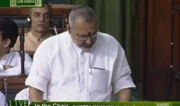 giriraj singh apologises in lok sabha for his...