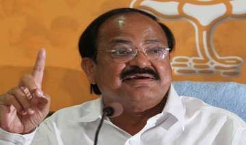 no question of a rethink on land bill venkaiah...