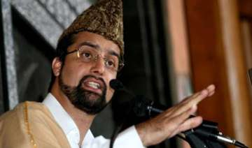hurriyat conference chairman mirwaiz put under...