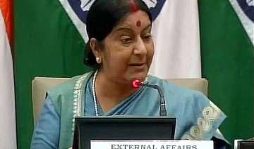 10 points from sushma s press meet - India TV