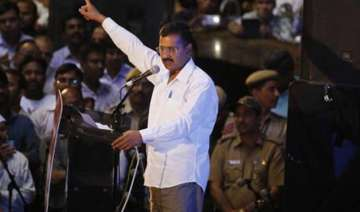 aap rally arvind kejriwal asks police to keep...