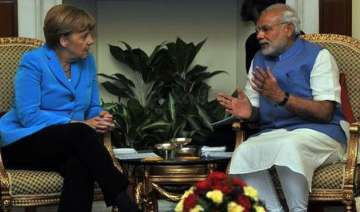 angela merkel meets pm modi india germany ink 18...