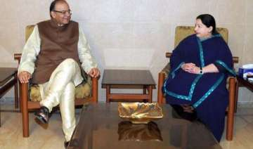 jaitley drops in on jayalalithaa - India TV